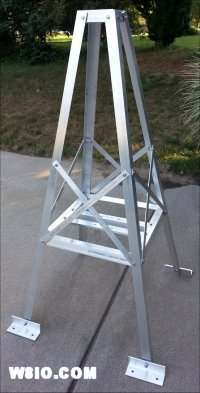 4.5 foot roof tower